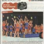 28/02/11 Gazet van Antwerpen – Zo was het weekend: Turnfeest