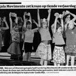 18/02/09 Gazet van Antwerpen – Gymplus movimento zet kroon op tiende verjaardag