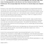 17/12/07 Gazet van Antwerpen – Turners openen sporthal De Sterre